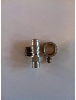 PIÑON Y SOPORTE CUENTAQUILOMETROS (9 dientes cable gordo de 2.8mm) VESPA 150/SPRINT/GT