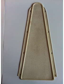 ALFOMBRA CENTRAL BLANCO 125/150/160