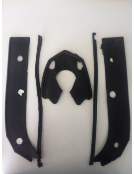 GOMA PERFIL GUARDABARROS KIT LAMBRETTA