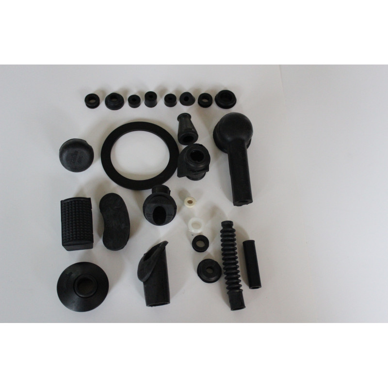 KIT GOMAS (color negro) VESPA 125/150