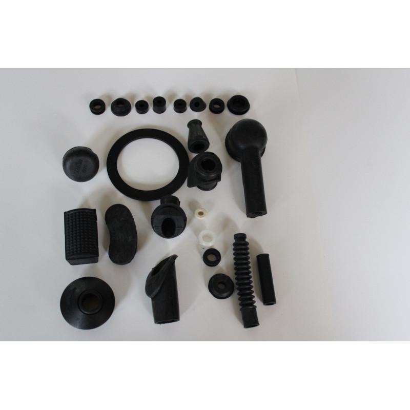 KIT GOMAS (color negro) VESPA 125/150