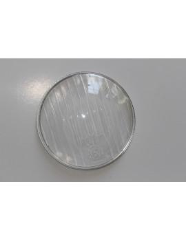 CRISTAL FARO RALLADO LARGO diámetro 95mm VESPA (FARO BAJO 1ª serie) vidrio