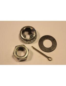 KIT TUERCA CON PRECINTO Y PASADOR (rueda posterior) VESPA IRIS/T5/TX/FL/PX/XL