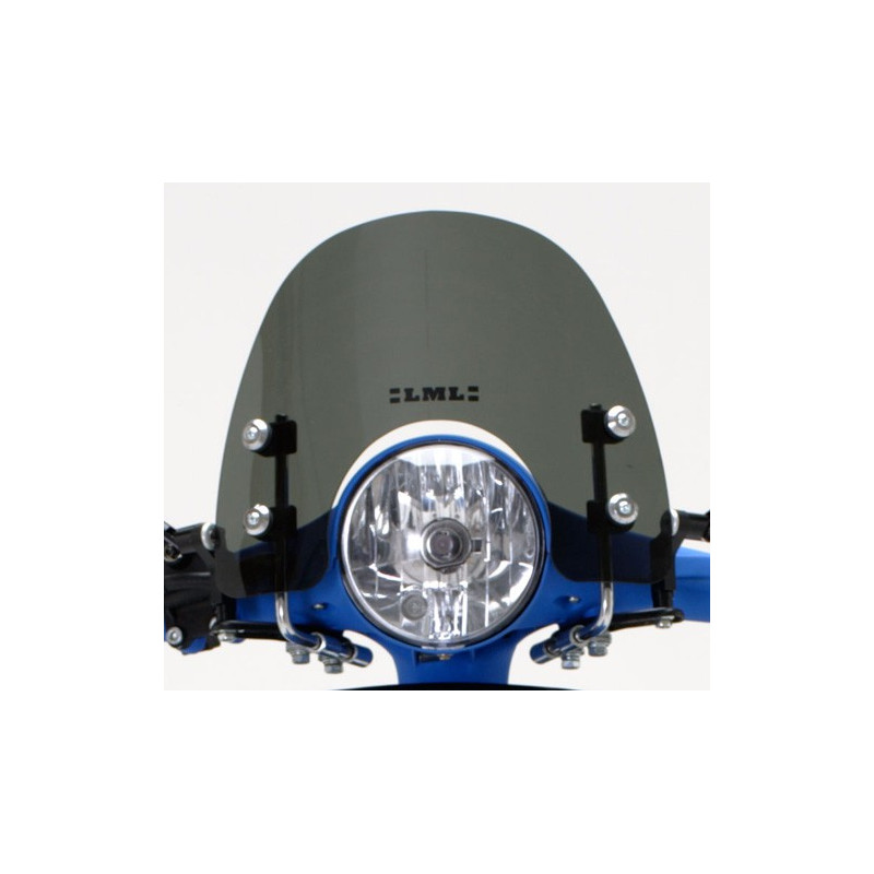 PARABRISAS CORTO CLASICO OSCURO LML STAR 125/150/200 (2T/4T) (COMPATIBLE CON MODELOS VESPA)