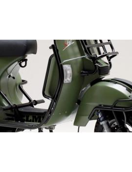 PROTECCION ESCUDO NEGRO LML STAR 125/150/200 (2T/4T) (COMPATIBLE CON MODELOS VESPA)