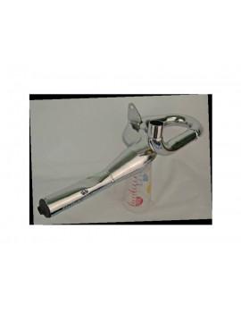TUBO ESCAPE CROMADO PINASCO VESPA 125/150: GL - GT - GTR - SPRINT - SPRINT V. - TS