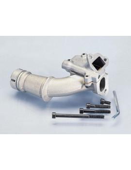 TOBERA DOBLE ADMISION (carburador 19mm) LAMINAS VESPA 50-75-125 PRIMAVERA / ET3 / SUPER / SL