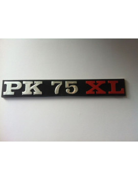 ANAGRAMA PARA CÓFANOS LATERALES VESPA PK 75 XL (CALIDAD)