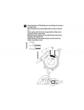 TOBERA DE ADMISION (19mm) LÁMINAS POLINI VESPA PK-XL-PKS 50/75/125
