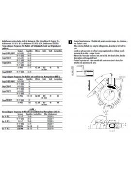 TOBERA DE ADMISIÓN MONOLAMINAR POLINI 24mm VESPA 50/75/125 PK-PKS-XL-ETS