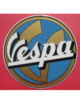 PLACA DECORATIVA VESPA