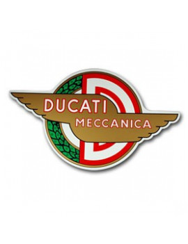 PLACA DECORATIVA DUCATI MECCANICA