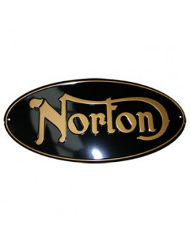 PLACA DECORATIVA NORTON
