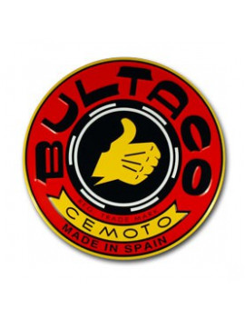 PLACA DECORATIVA BULTACO (ROJO)