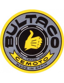 PLACA DECORATIVA BULTACO (GRIS)