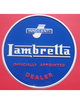 PLACA DECORATIVA LAMBRETTA