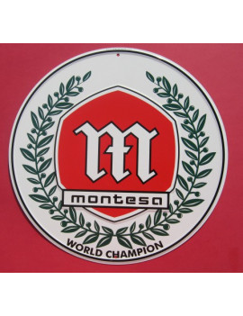 PLACA DECORATIVA MONTESA (WORLD CHAMPION)