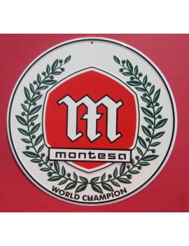 PLACA DECORATIVA MONTESA (WORLD CHAMPION)