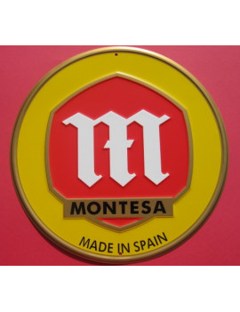 PLACA DECORATIVA MONTESA (MADE IN SPAIN)