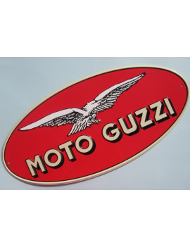 PLACA DECORATIVA MOTO GUZZI