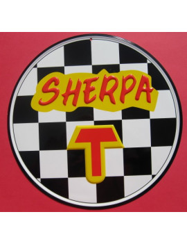 PLACA DECORATIVA SHERPA