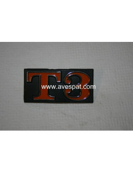 """ANAGRAMA / ESCUDO T3"""" (Trasero)"""""""