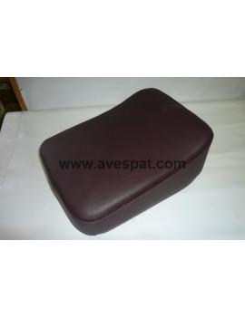 ASIENTO POSTERIOR MARRON OSCURO 30X23 VESPA (asientos individuales)