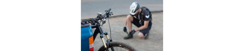 Todos los accesorios necesarios para ir bien equipado en bicicleta